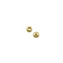 Round Bead 2.5mm Gold Plated (100-Pcs)