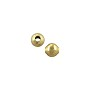 Round Bead 4mm Gold Plated (10-Pcs)