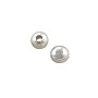 Round Bead 5mm Silver Plated (10-Pcs)