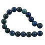 "Azurite Malachite Round Beads 8mm (15"" Strand)"