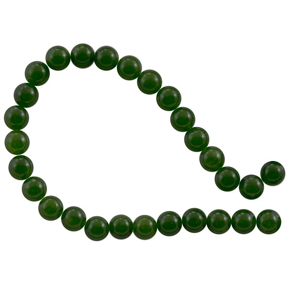 "Canadian Jade Round Beads 6mm (15"" Strand)"