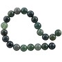 "Moss Agate Round Beads 8mm (15"" Strand)"