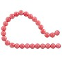 "Pink Coral Round Beads 6-7mm (16"" Strand)"