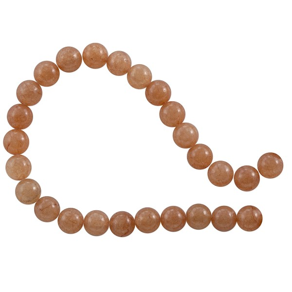 "Red Aventurine Round Beads 6mm (15"" Strand)"