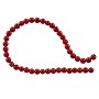 "Red Coral Round Beads 3.5-4mm (15"" Strand)"