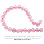 "Rose Quartz Round Beads 6mm (15"" Strand)"