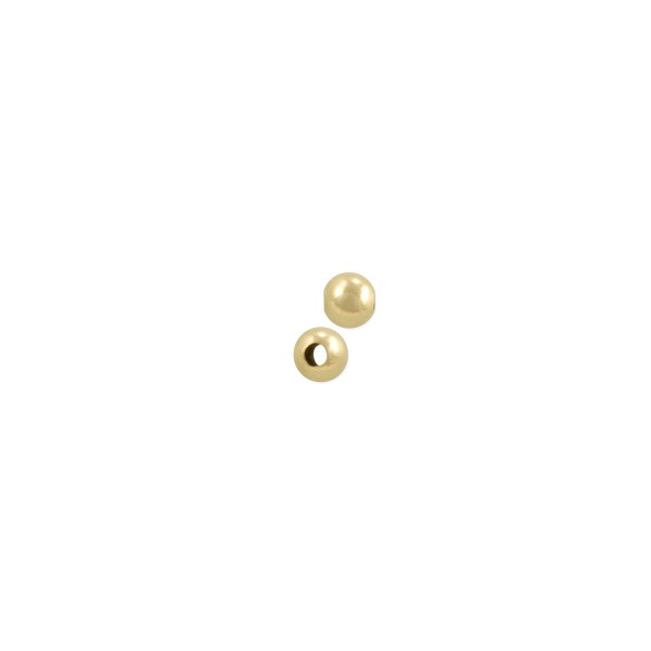 Round Beads 2.5mm Gold Filled (10-Pcs)