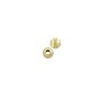 Round Corrugated Bead 3mm Gold Filled (1-Pc)