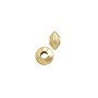 Saucer Bead 5x3mm Gold Filled (1-Pc)