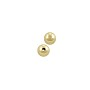 Round Beads 4mm Gold Filled (1-Pc)