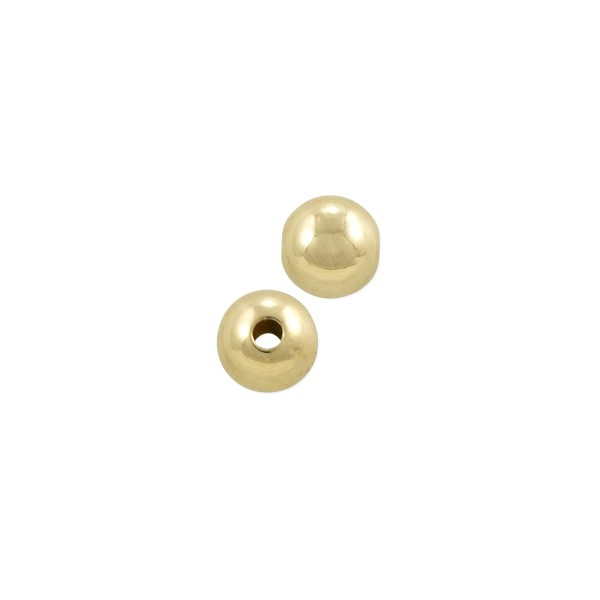 Round Bead 5mm Gold Filled (2-Pcs)