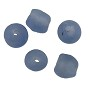 Ghana Recycled Glass Beads 10mm Light Blue (5-Pcs)