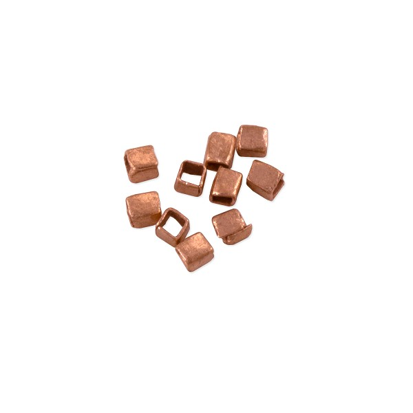 Heishi Rectangle Beads 3x2mm Copper (10-Pcs)