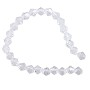 "Faceted Bicone 6mm Crystal Beads (11"" Strand)"