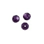 "Faceted Round 4mm Amethyst Crystal Beads (14"" Strand)"
