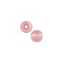 Czech Pressed Glass Round Beads 4mm Rosaline (10-Pcs)