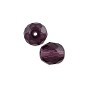 Czech Fire Polished Rounds 8mm Amethyst (10-Pcs)