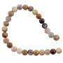 "Crazy Lace Agate Beads 4mm (15"" Strand)"