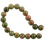 "Unakite Round Beads 6mm (16"" Strand)"