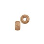 Stardust Rondelle Bead 4x2mm Rose Gold Filled (1-Pc)