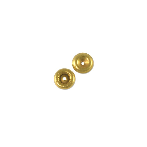 Swarovski Rivet Backpart 6mm Brass (6-Pcs)