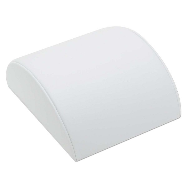 "Jewelry Display Hump for Bracelets White 5""Wide"