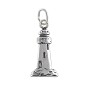 Lighthouse Charm 18x9mm Sterling Silver (1-Pc)