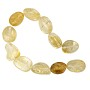 "Citrine Tumbled Oval Nuggets 12-16mm (15"" Strand)"