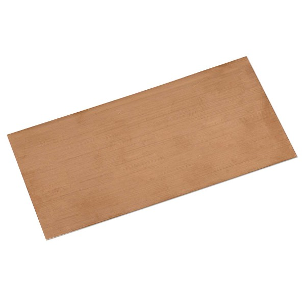 "Copper Sheet 18g 6""x3"""