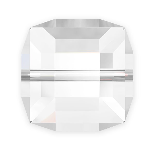 Swarovski 5601 8mm Crystal Cube Bead (1-Pc)
