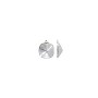 Swarovski 12mm Cushion Cut Glue-In Setting Rhodium Plated (1-Pc)