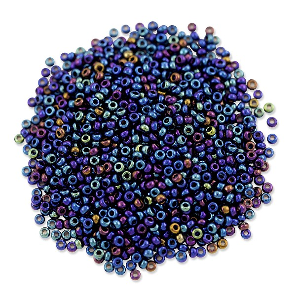 Preciosa Czech Seed Beads 11/0 Blue Iris (10 Grams)