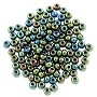 Preciosa Czech Seed Beads 6/0 Green Iris (10 Grams)