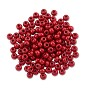 Preciosa Czech Seed Bead 6/0 Opaque Dark Red (10 Grams)