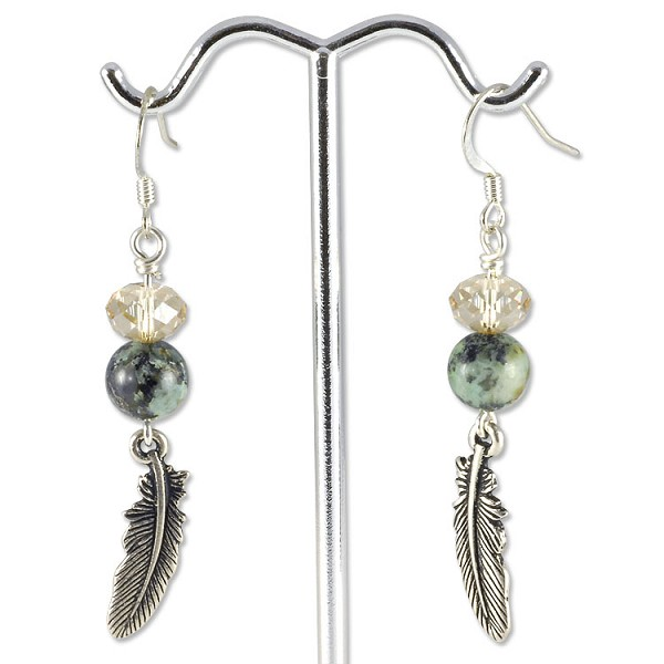 Feathered Flight Earring Project