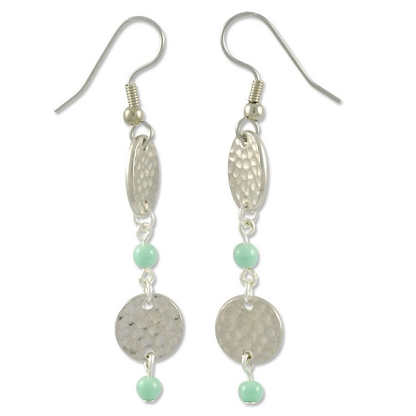 Mint Chip Earring Project