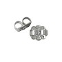 Ear Back Heavy Weight 14k White Gold (1-Pc)
