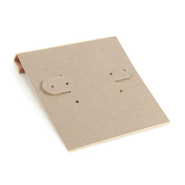 Hanging Earring Card Kraft Paper 2x2