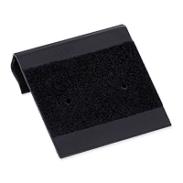 Hanging Earring Card - Black Flocked 1x1 (100-Pcs)