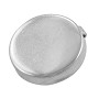 Button Cover 18mm Silver Color (1-Pc)