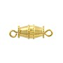 Barrel Clasp 16x5mm Gold Plated (10-Pcs)