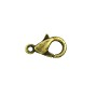 Lobster Claw Clasp 10x6mm Antique Brass Plated (1-Pc)