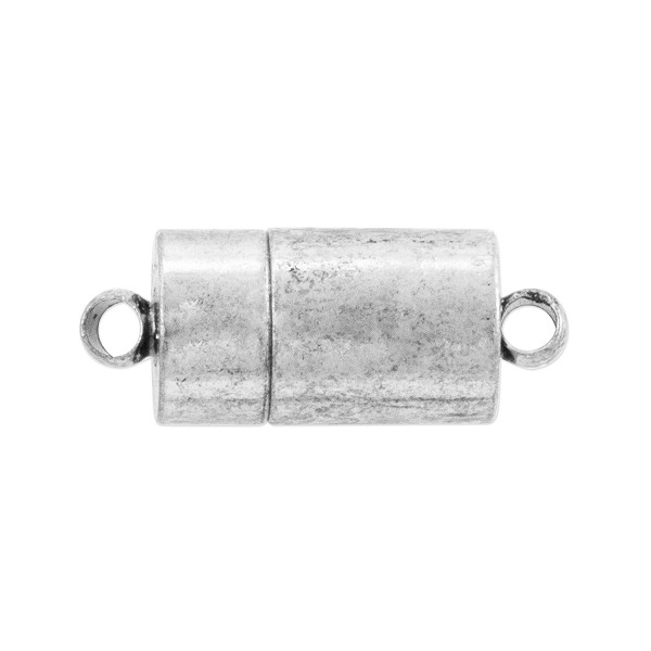 Magnetic Clasp 22x7mm Silver Plated (1-Pc)