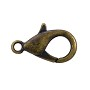 Lobster Claw Clasp 16x8mm Antique Brass Plated (1-Pc)