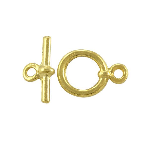 Toggle Clasp 15mm Gold Plated (Set)