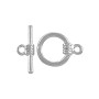 Toggle Clasp 13mm Silver Color (Set)