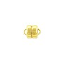 Magnetic Clasp 8x6mm Gold Plated (1-Pc)