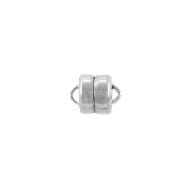 Magnetic Clasp 8x6mm Silver Plated (1-Pc)