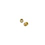 Seamless Crimp Tube 2x2mm Gold Plated (10-Pcs)