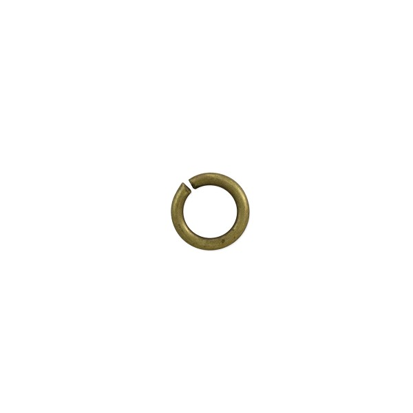 Open Round Jump Ring 4.5mm Antique Brass Plated (100-Pcs)